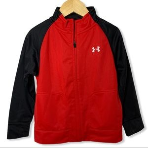 Under Armour red & black Jacket 3T